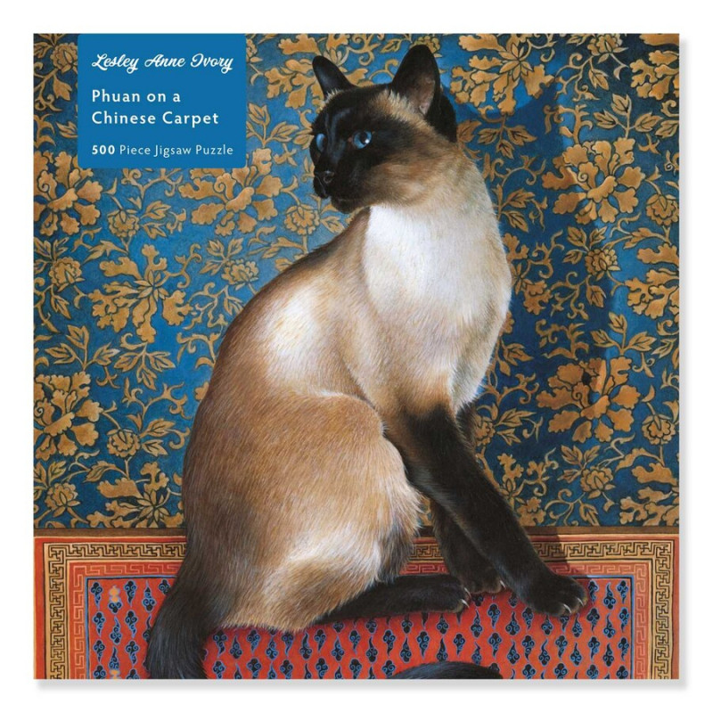 *Lesley Anne Ivory: Phuan on a Chinese Carpet 500 Piece Puzzle