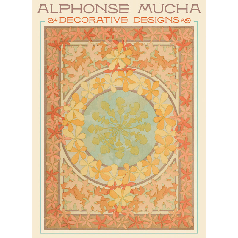 Alphonse Mucha Decorative Designs Boxed Notecards