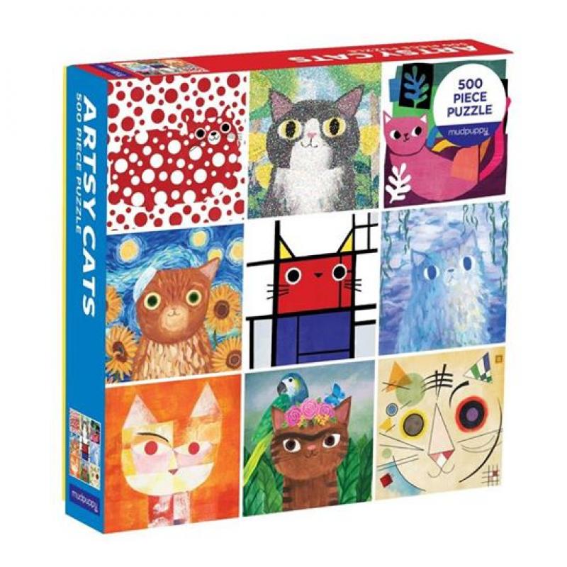 *Artsy Cats Puzzle