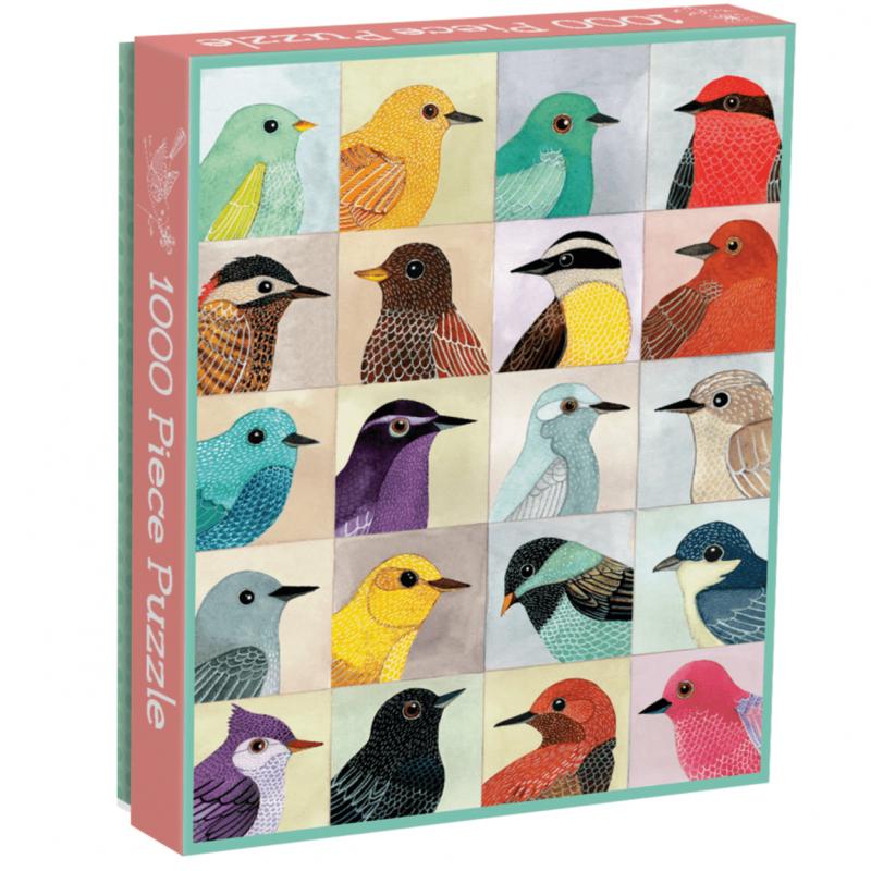 Avian Friends 1000 Piece Jigsaw Puzzle