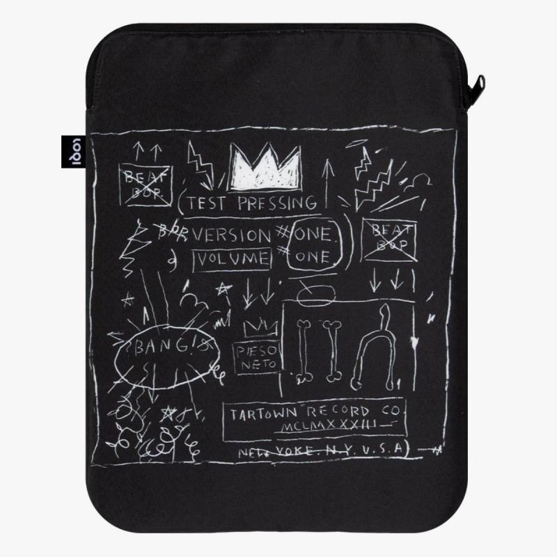 Jean-Michel Basquiat Crown Laptop Cover