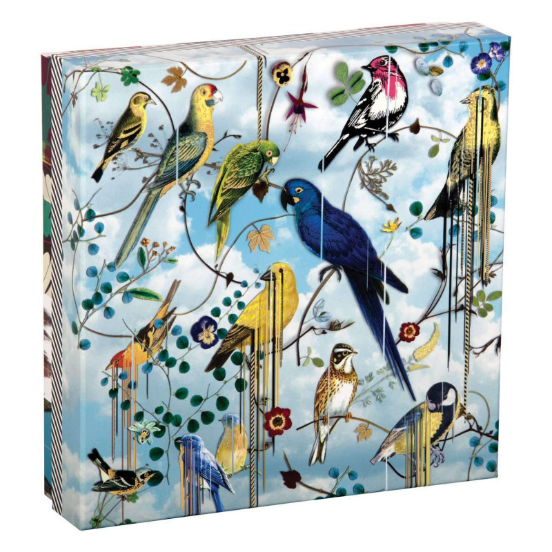 Birds Sinfonia Double Sided Puzzle