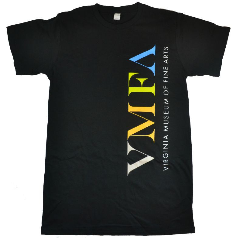 *VMFA Logo T-Shirt - Black