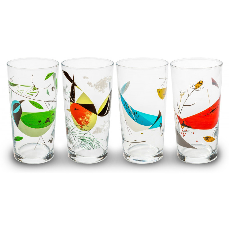 Charley Harper Bird Glasses II