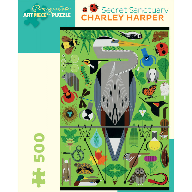 Charley Harper: Secret Sanctuary Puzzle