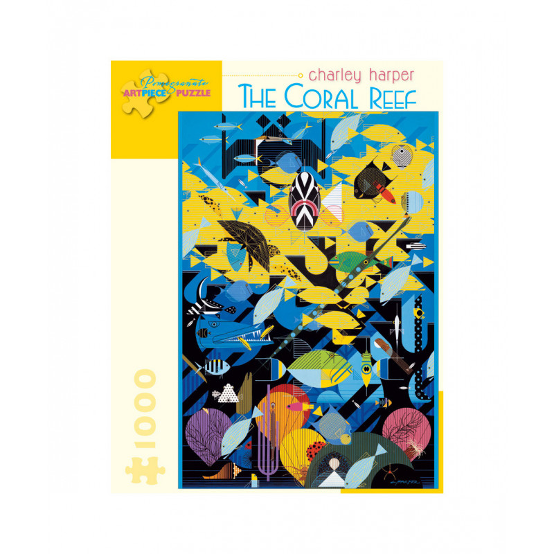 Charley Harper: The Coral Reef Puzzle