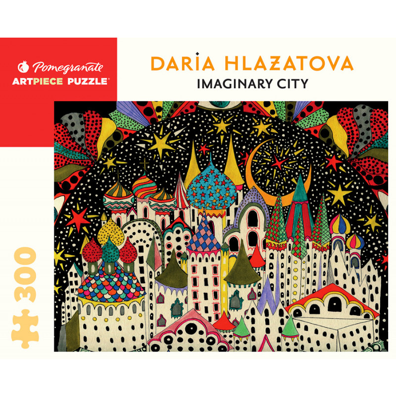 Imaginary City 300-Piece Jigsaw Puzzle Daria Hlazatova