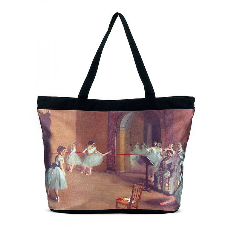 Degas Ballet Lesson Tote Bag