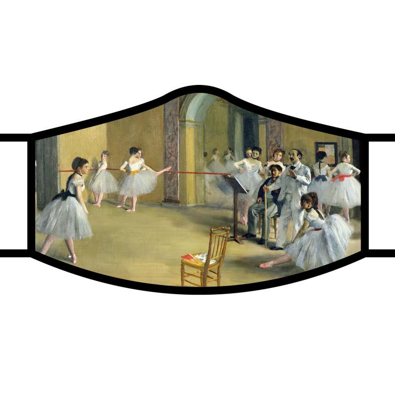 Degas The Dance Foyer Face Mask