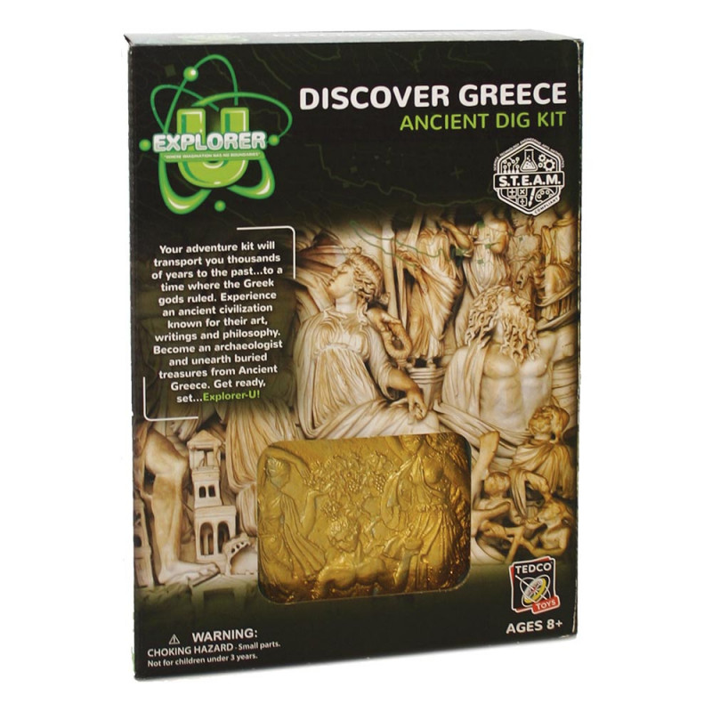 Ancient Dig Kit: Discover Greece