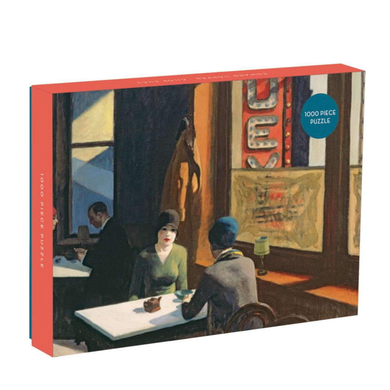 Edward Hopper Chop Suey 1000 Piece Puzzle