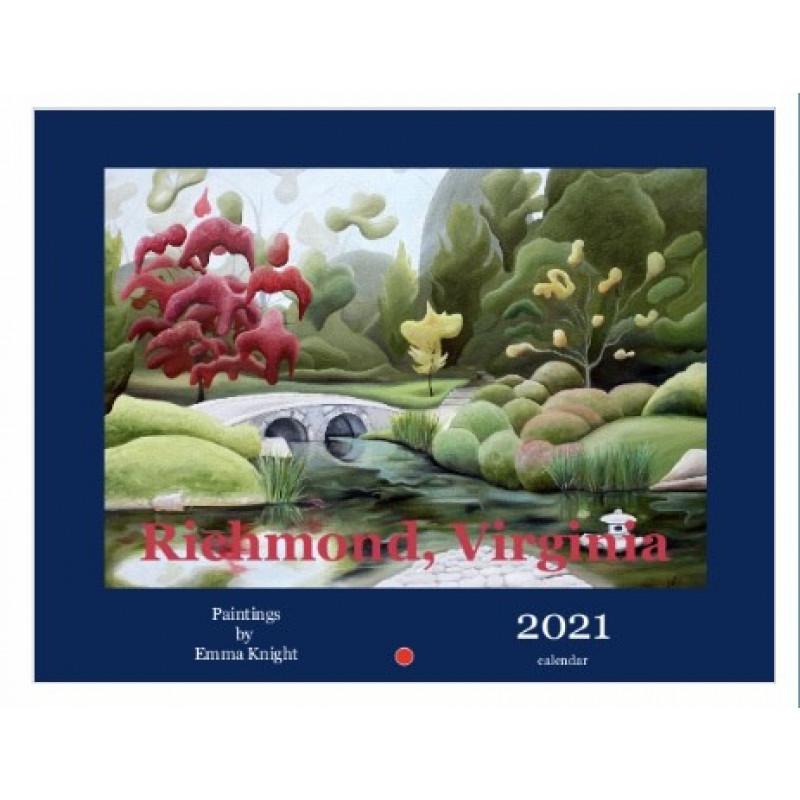 Richmond: Paintings by Emma Knight 2021 Calendar
