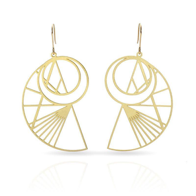Esquemas Gold Earrings