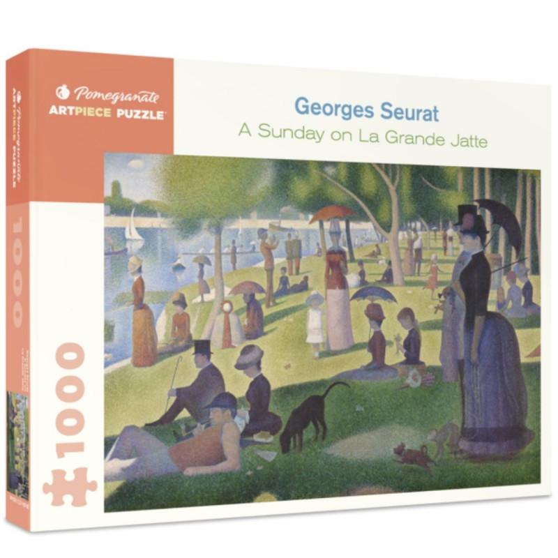 *Georges Seurat: A Sunday on La Grande Jatte 1000-Piece Puzzle