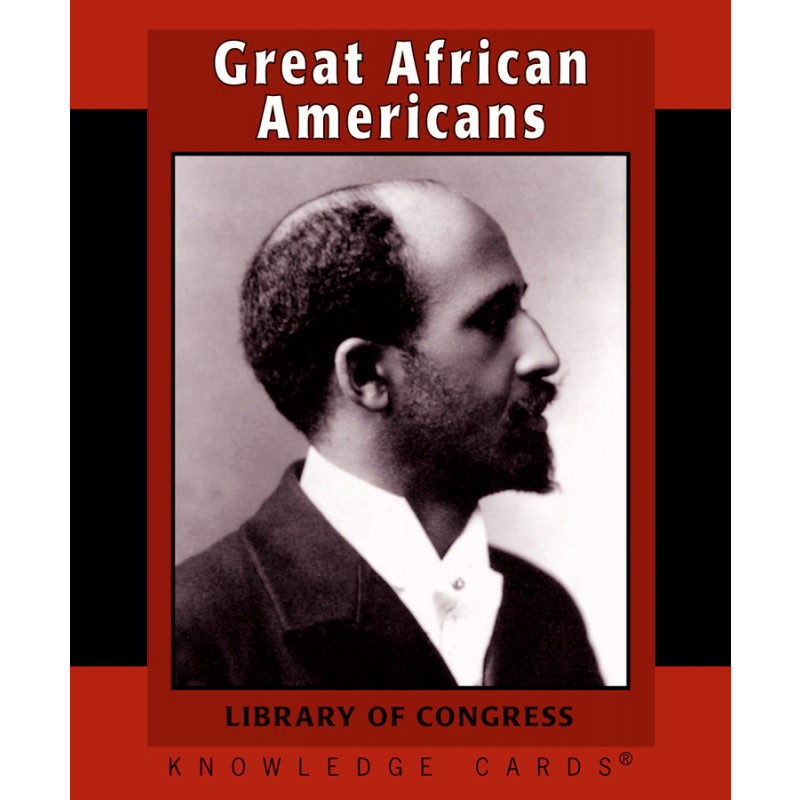 Great African Americans Knowledge Cards