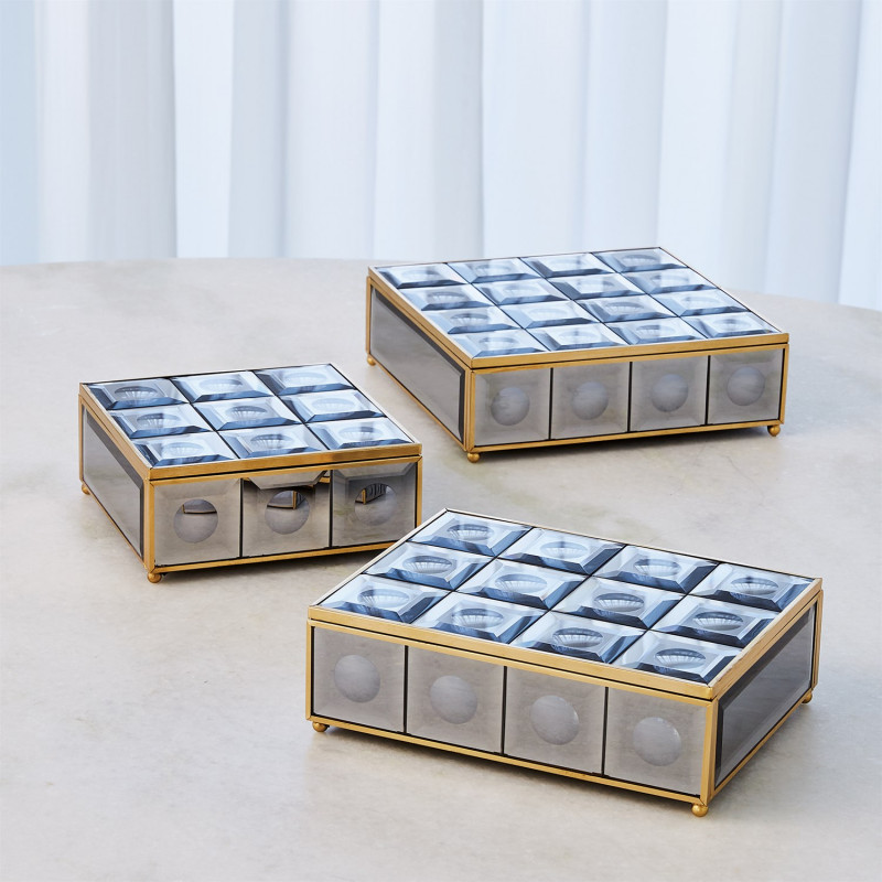 Grey Optic Mirror Box