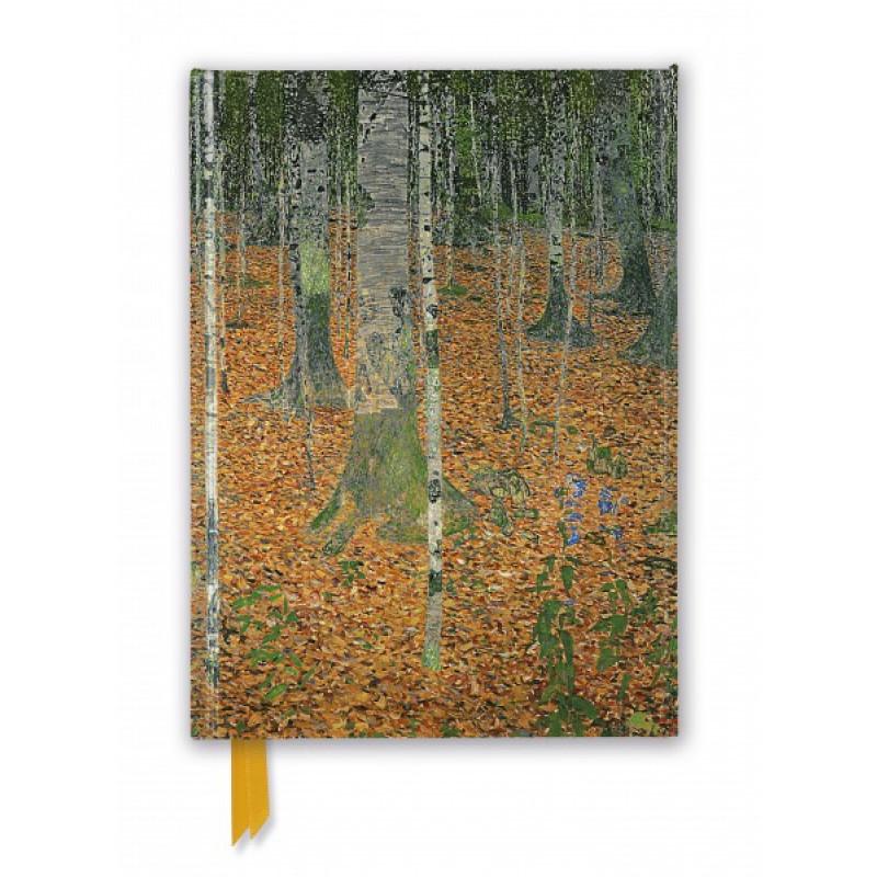 Foiled Journal - Gustav Klimt: The Birch Wood