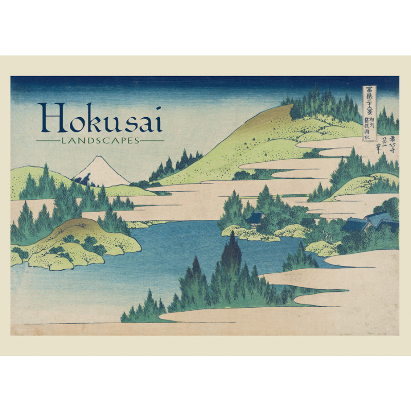 *Hokusai Landscapes Boxed Notecards