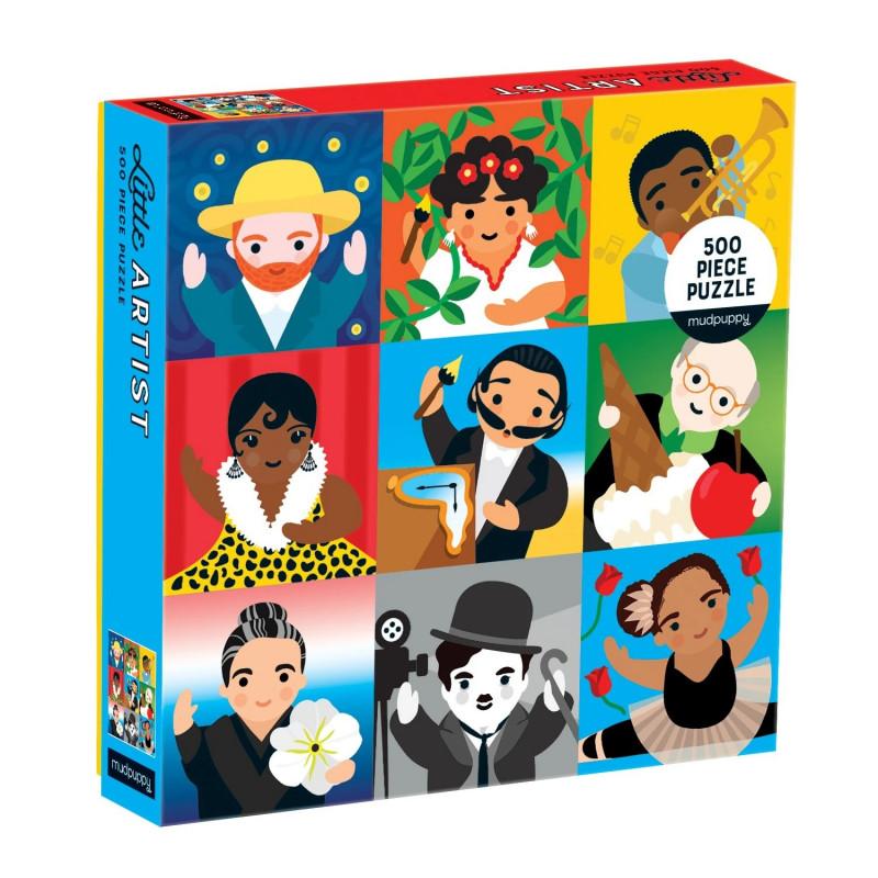 Little Artist 500 Piece Jigsaw Puzzle