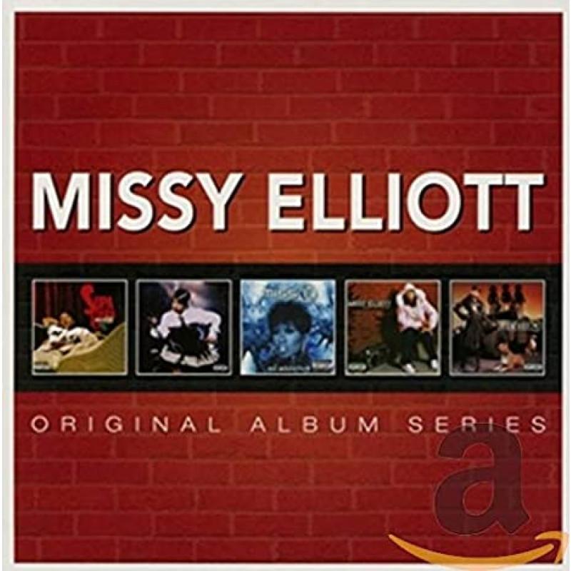 Missy Elliott Orignial Album Series CDs