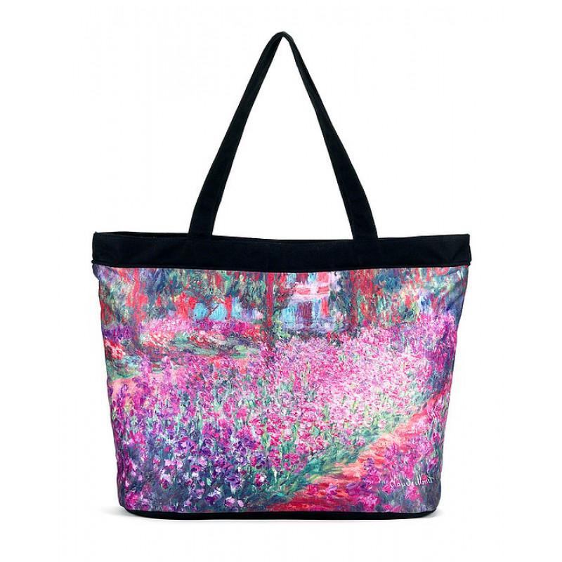 Monet Garden Tote Bag