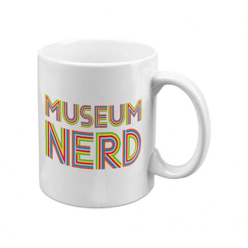 Museum Nerd Mug - White