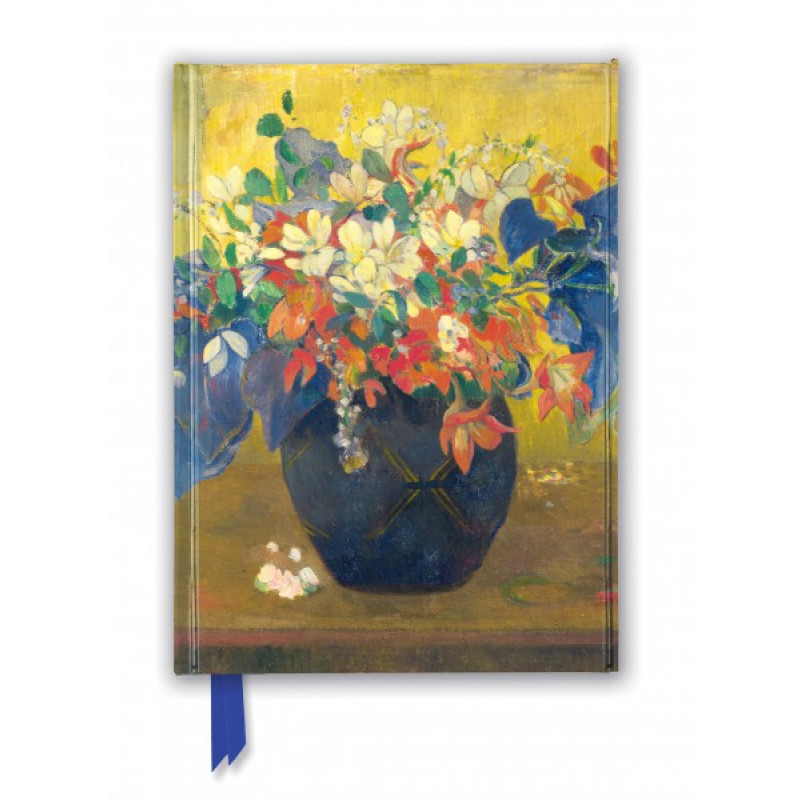 Foiled Journal - National Gallery: A Vase of Flowers by Paul Gauguin