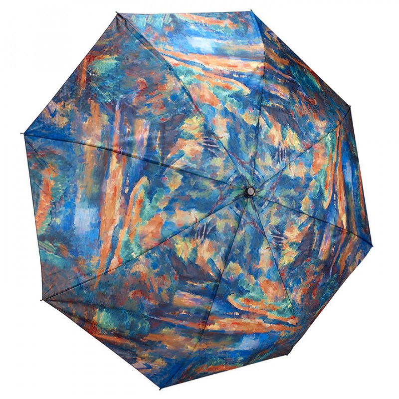 Paul Cezanne The Brook Folding Umbrella