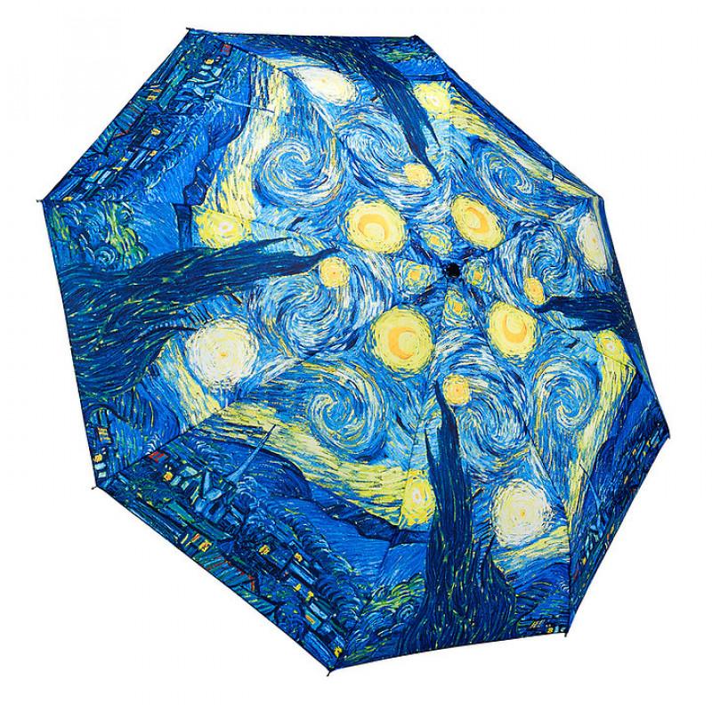 Vincent van Gogh Starry Night Folding Umbrella