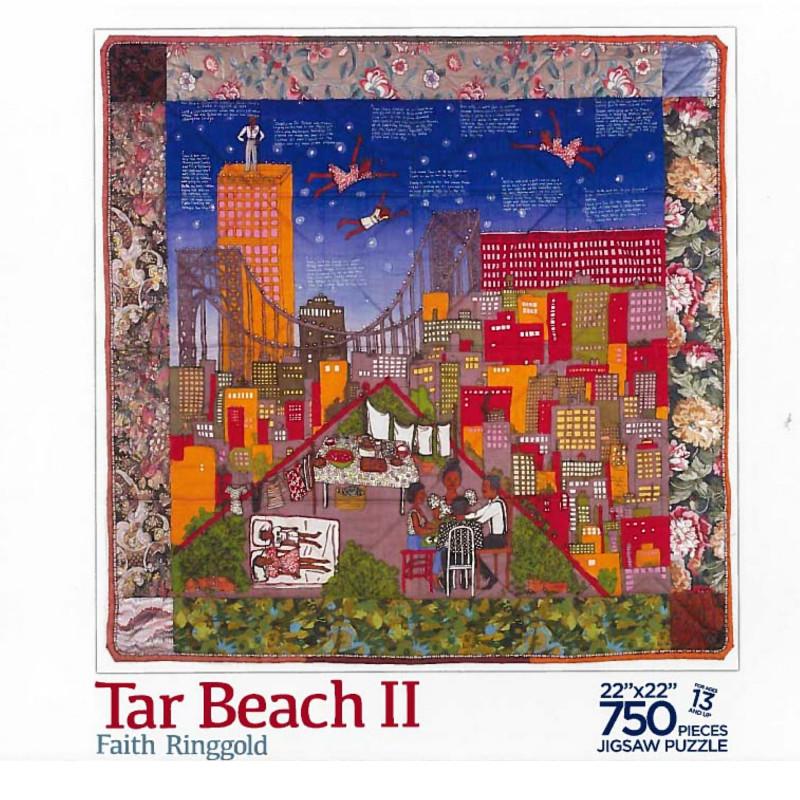 Tar Beach III by Faith Ringgold 750 Piece Jigsaw Puzzle