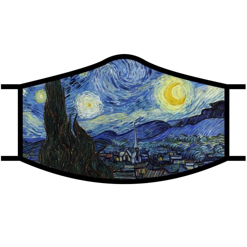 Van Gogh Starry Night Face Mask