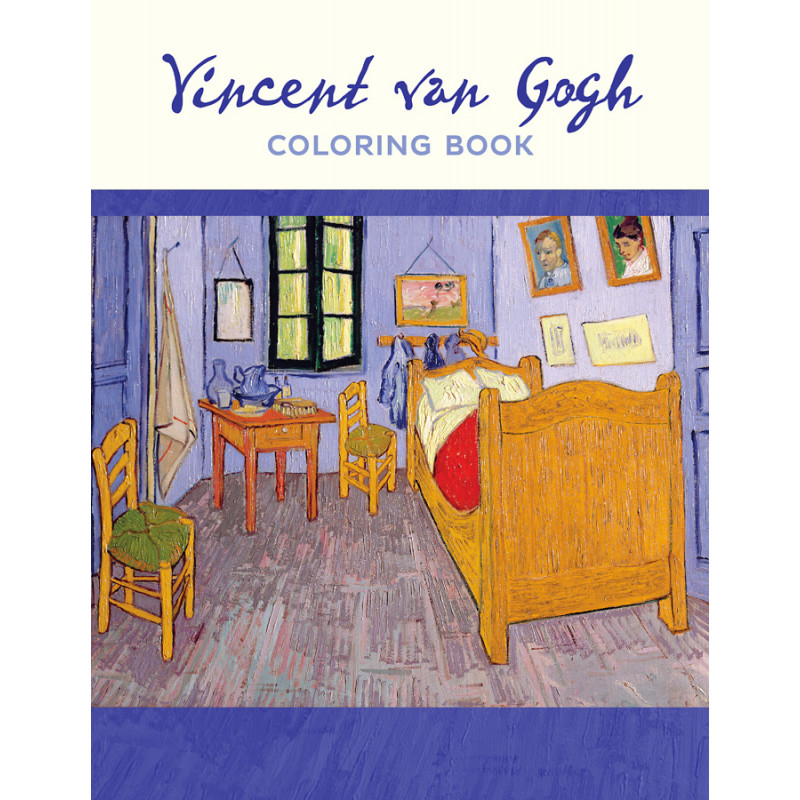 Vincent Van Gogh Coloring Book VMFA Shop