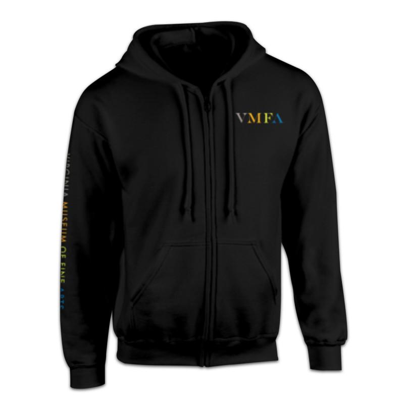 *VMFA Black Hoodie Sweatshirt