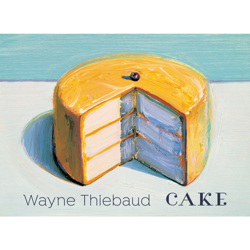 *Wayne Thiebaud: Cake Boxed Notecards