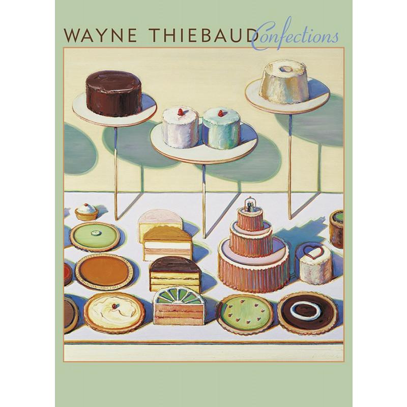 *Wayne Thiebaud Confections Notecards