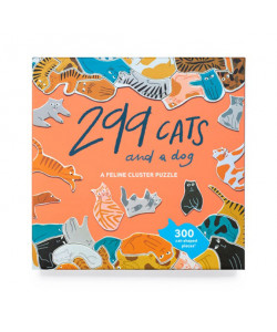 *299 Cats (and a dog): A Feline Cluster Puzzle