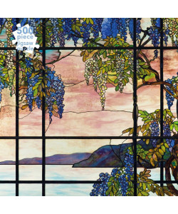Tiffany Studios: View of Oyster Bay 500-Piece Puzzle
