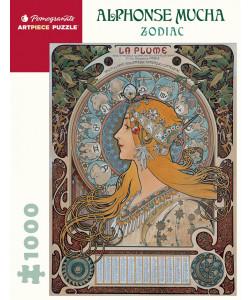 Alphonse Mucha: Zodiac Puzzle