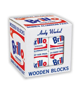 Andy Warhol Brillo Wooden Blocks