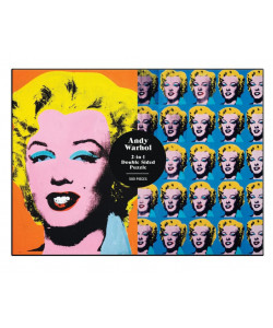 Andy Warhol Marilyn Double Sided Puzzle