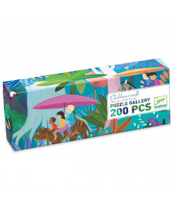 Children's Walk Gallery Jigsaw Puzzle + Poster