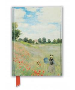 Foiled Journal - Claude Monet: Wild Poppies, near Argenteuil