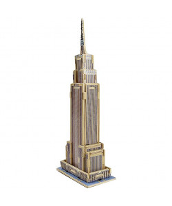 DIY 3D Wooden Puzzle: Empire State Building