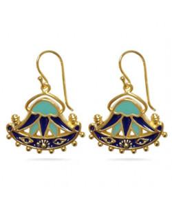 Egyptian Lotus Earrings