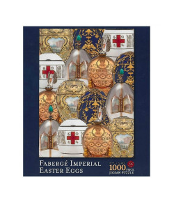 Fabergé Imperial Easter Eggs Jigsaw Puzzle