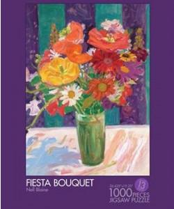 Fiesta Bouquet by Nell Blaine Jigsaw Puzzle