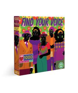 Find Your Voice 1000 Piece Puzzle