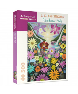 L. C. Armstrong: Rainbow Falls 500-Piece Puzzle