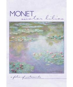 Monet: Water Lilies Notecard Folio