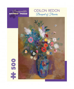 Odilon Redon: Bouquet of Flowers Puzzle